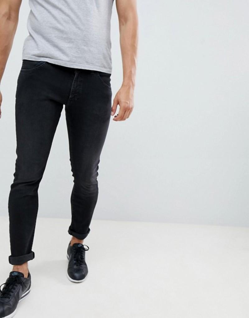 ラングラー メンズ デニムパンツ ボトムス Wrangler Bryson Skinny Jeans Bk1