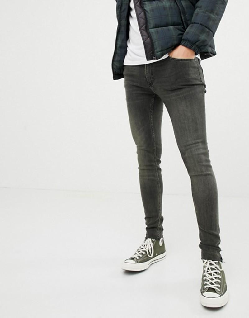 チープマンデー メンズ デニムパンツ ボトムス Cheap Monday Super Skinny Jeans Tint Overydye Tint od