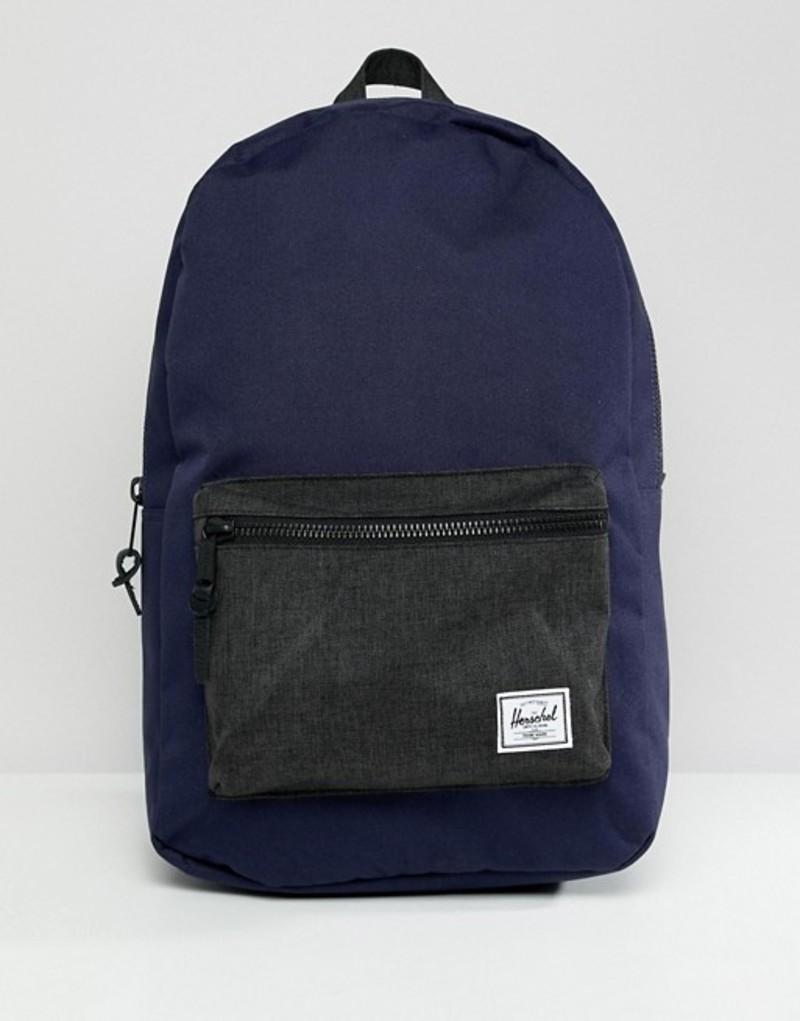 ハーシャル メンズ バックパック・リュックサック バッグ Herschel Supply Co Settlement backpack 23l Navy