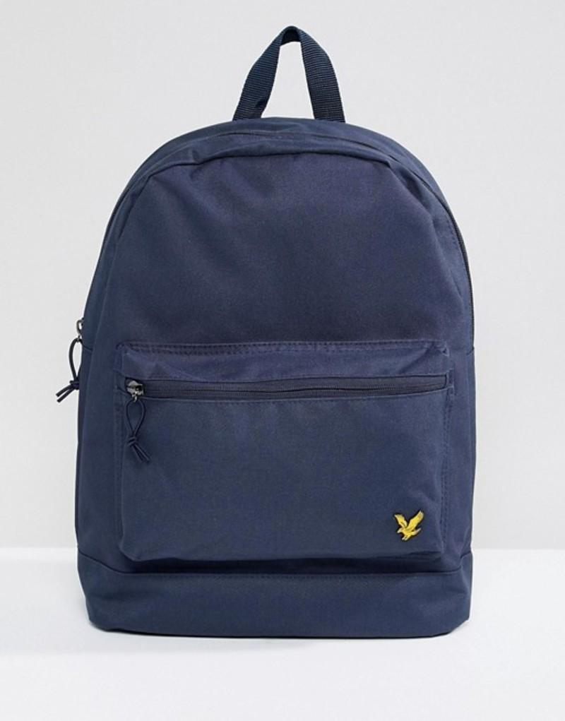 ライルアンドスコット メンズ バックパック・リュックサック バッグ Lyle & Scott logo backpack in navy Navy