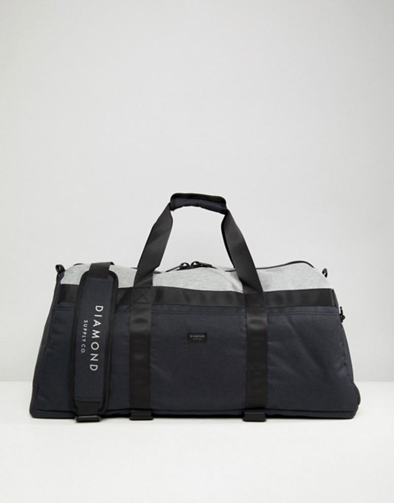 ダイヤモンドサプライ メンズ ボストンバッグ バッグ Diamond Supply Stone Cut Skate Duffle Bag Black