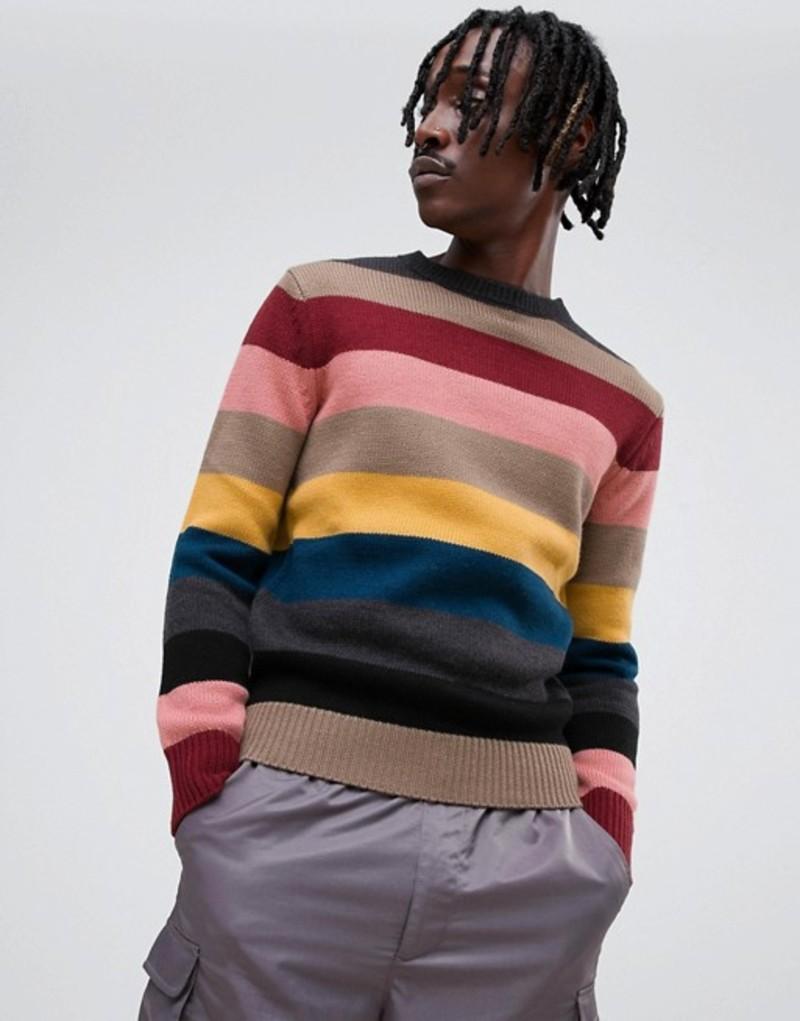 アンソニーモラート メンズ ニット・セーター アウター Antony Morato rainbow knitted sweater Multi