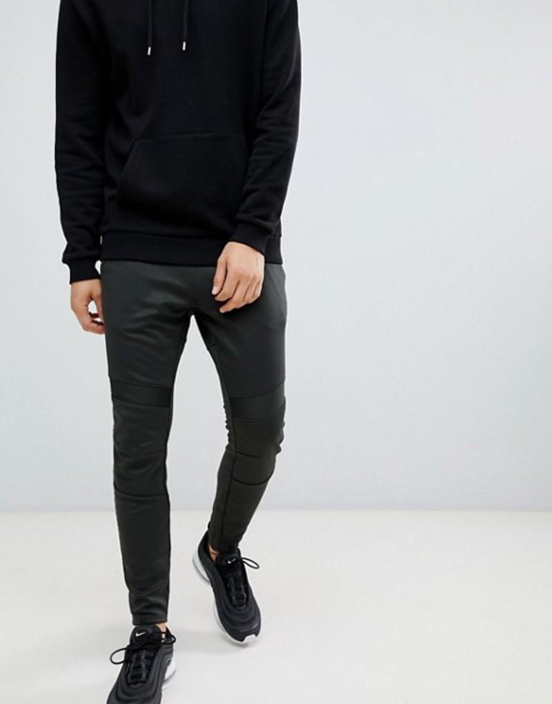 ジースター メンズ カジュアルパンツ ボトムス G-Star deconstructed sweatpants in black Black