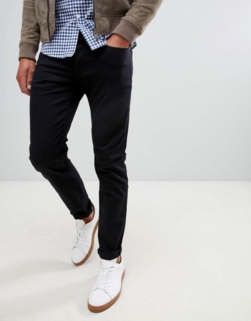 ジースター メンズ デニムパンツ ボトムス G-Star 3301 slim fit jeans in rinsed Black