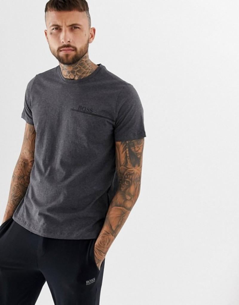 ボス メンズ Tシャツ トップス BOSS bodywear t-shirt Grey