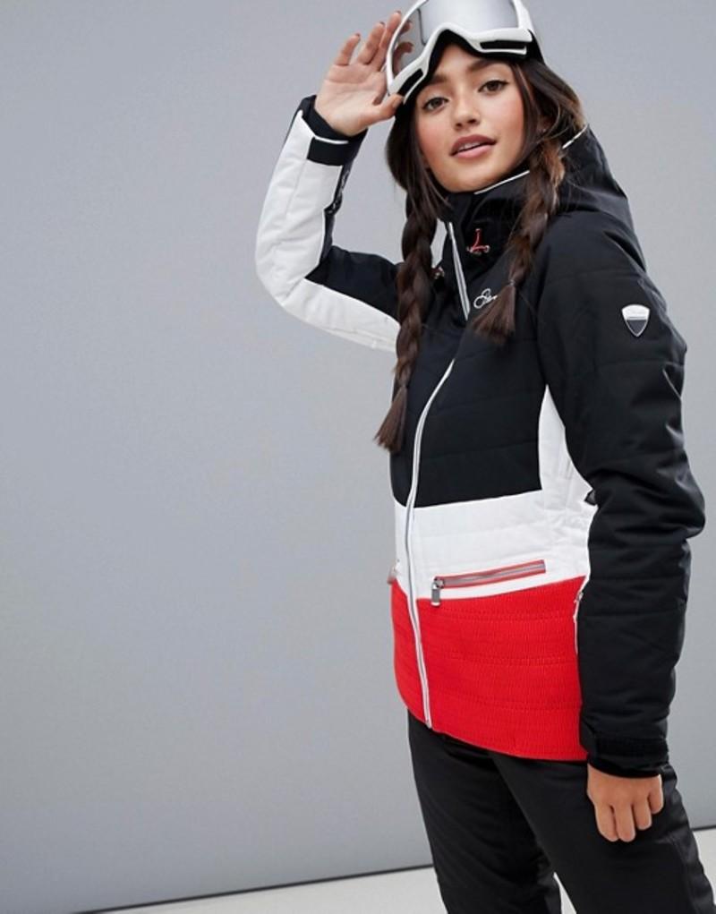 デアツービー レディース ジャケット・ブルゾン アウター Dare 2b Surpass Ski Jacket Black/white/red
