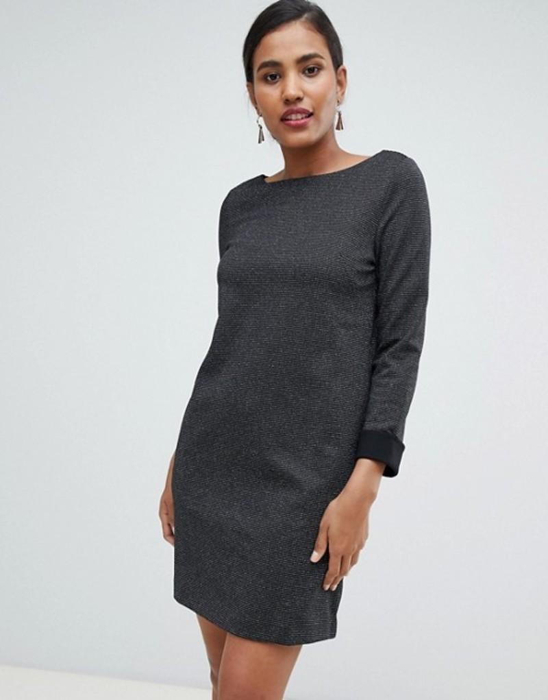 フレンチコネクション レディース ワンピース トップス French Connection Louna Jersey Shift Dress Black