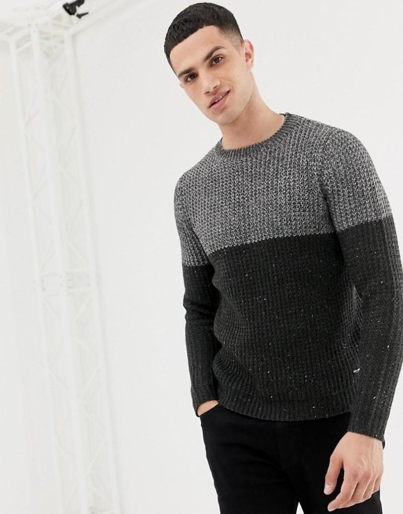 オンリーアンドサンズ メンズ ニット・セーター アウター Only & Sons Color Block Knitted Sweater Mgm