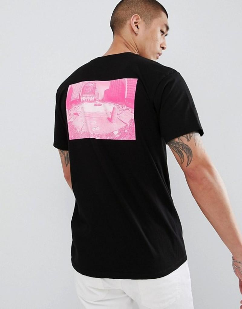 ディーシー メンズ Tシャツ トップス DC Shoes T-Shirt with Back Photo Print in Black Black