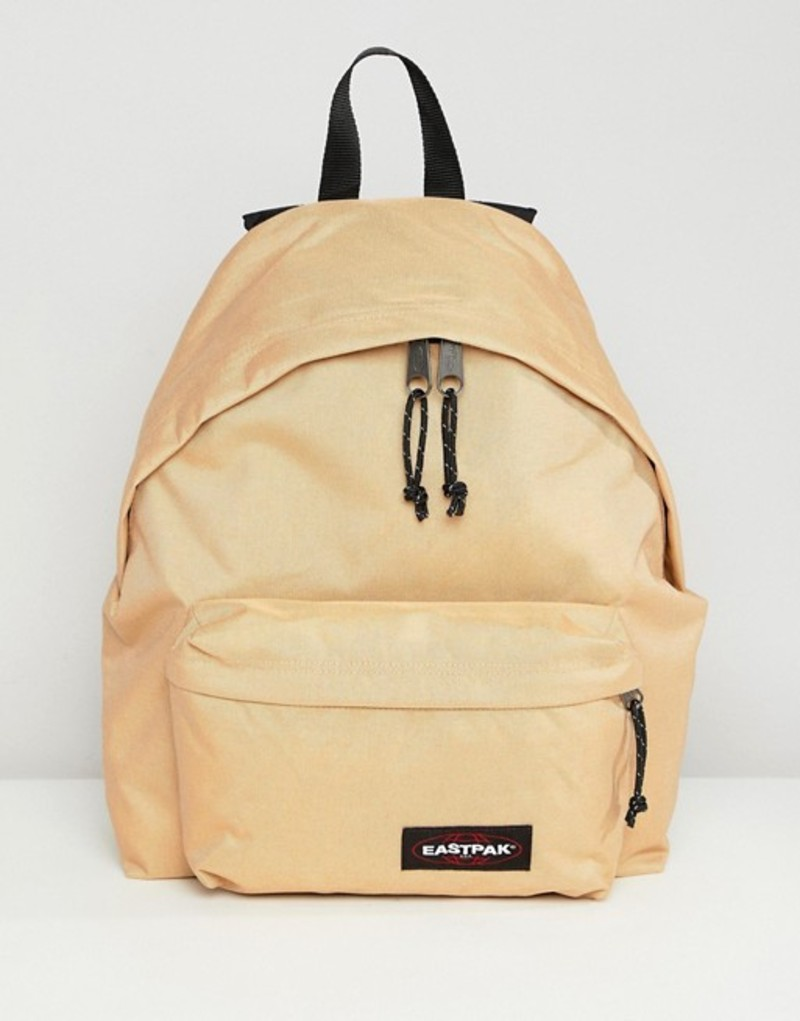 イーストパック メンズ バックパック・リュックサック バッグ Eastpak Padded Pak'R backpack 24L Beige