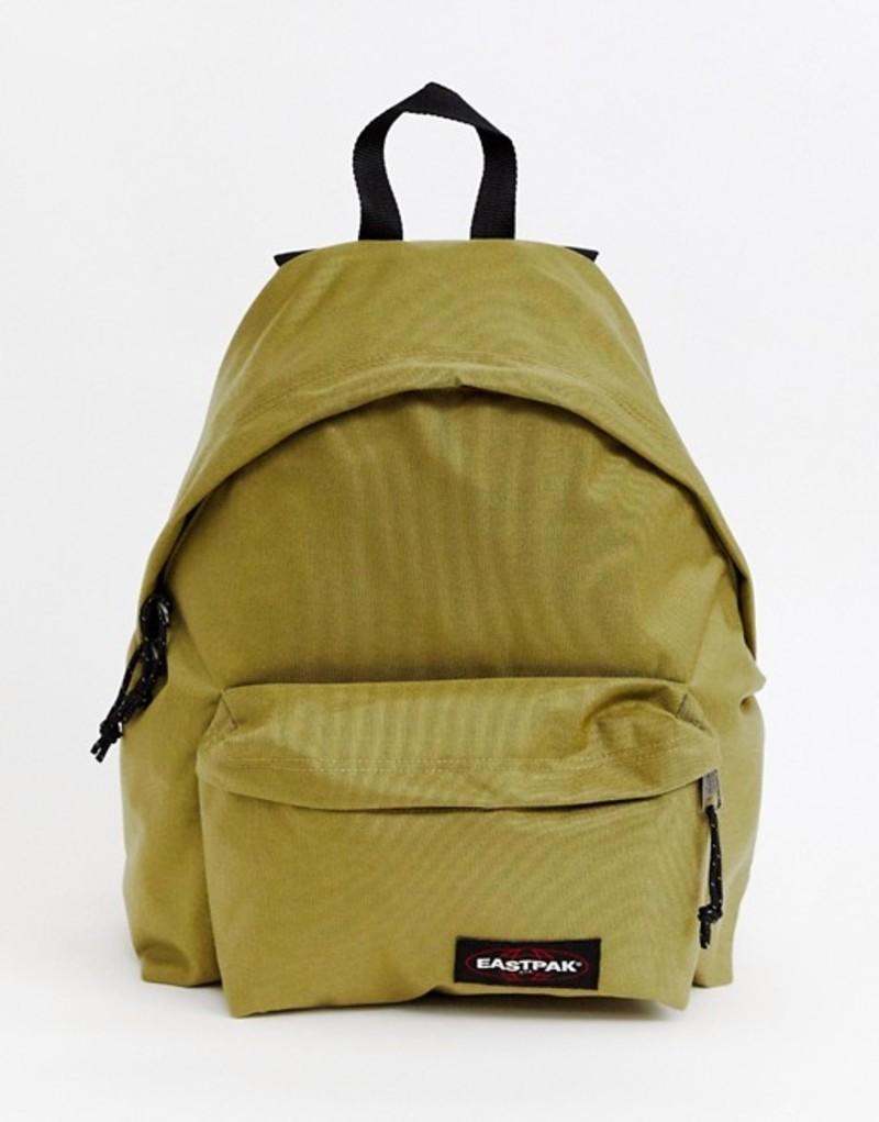 イーストパック メンズ バックパック・リュックサック バッグ Eastpak Padded Pak'R backpack 24L Khaki