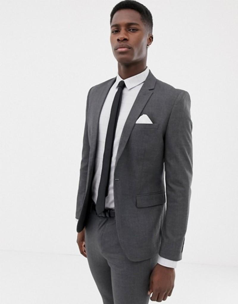 オンリーアンドサンズ メンズ ジャケット・ブルゾン アウター Only & Sons skinny suit jacket Lgm