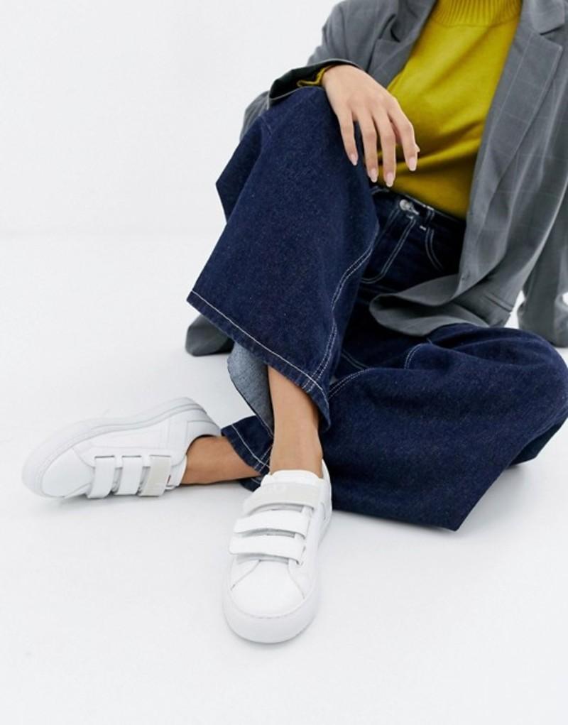 フューゴ レディース スニーカー シューズ HUGO シューズ HUGO logo sneakers velcro sneakers White, 富士スポーツ:a012bbac --- sunward.msk.ru