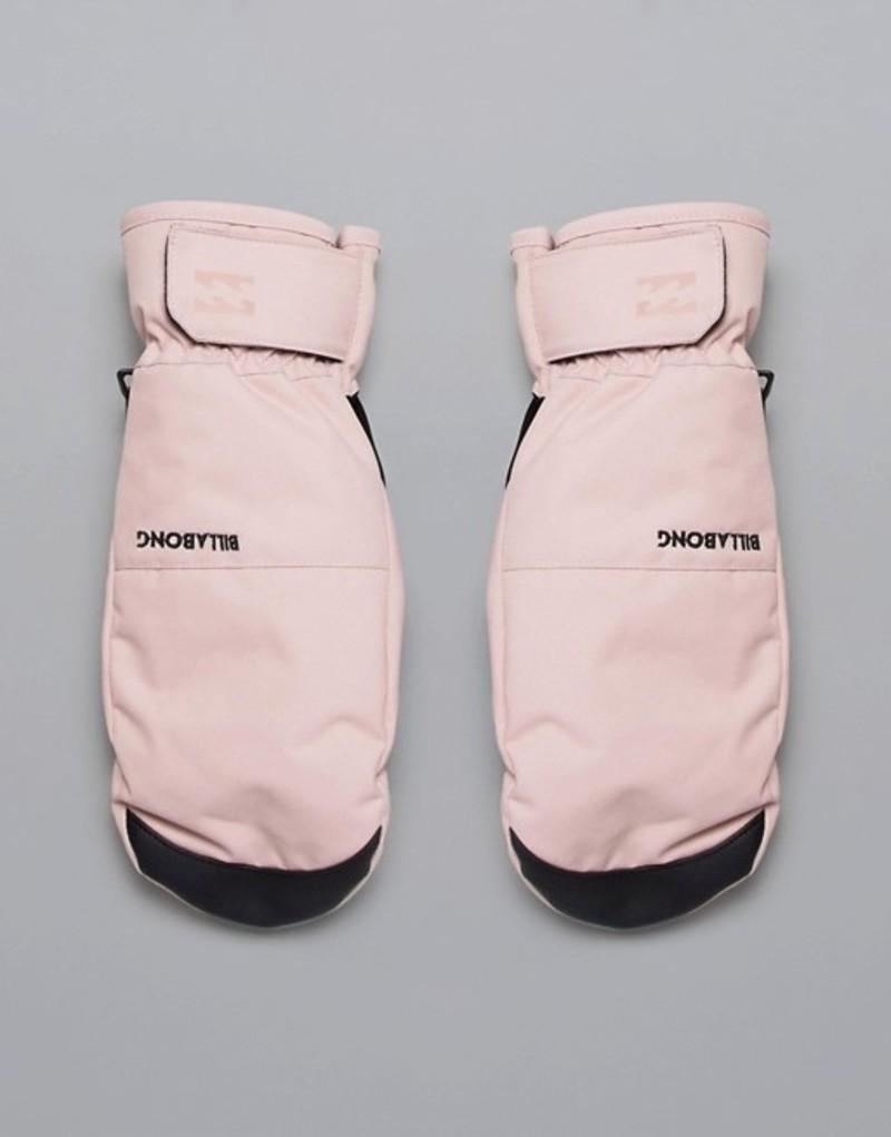 ビラボン レディース 手袋 アクセサリー Billabong Lark ski mitts in pink Pink