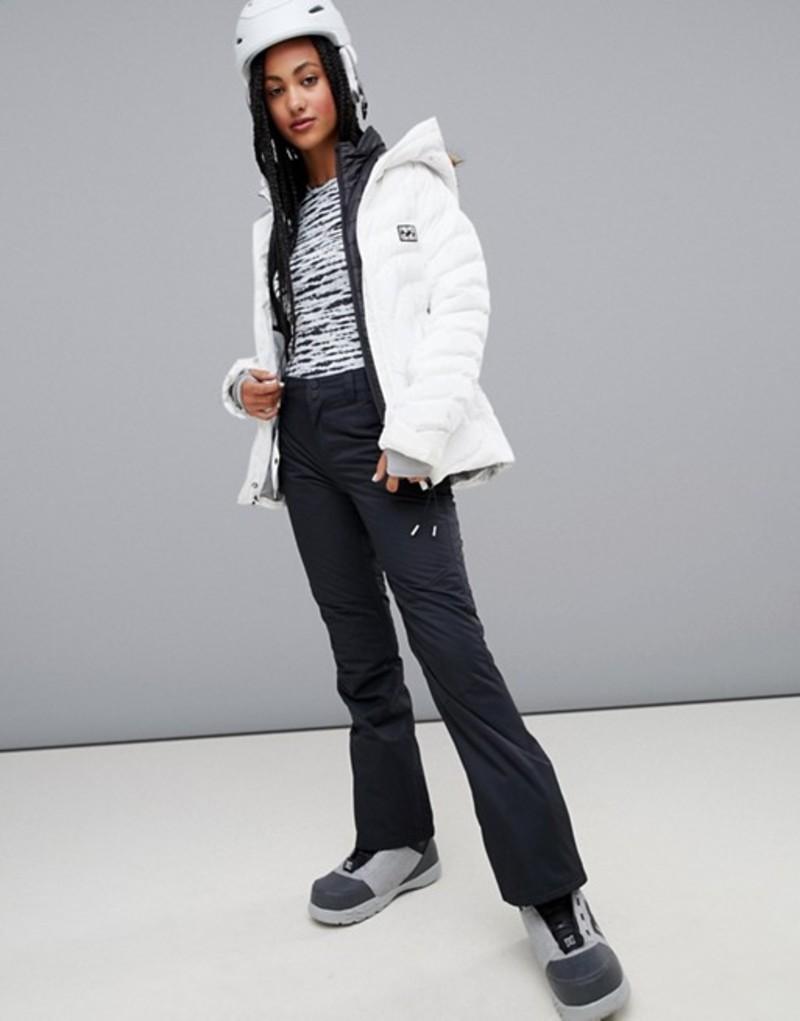 ビラボン レディース カジュアルパンツ ボトムス Billabong Malla ski pants in black Black