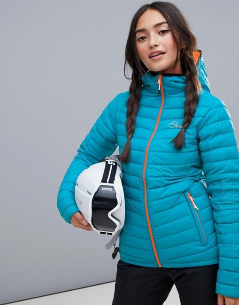 デアツービー レディース ジャケット・ブルゾン アウター Dare 2b Padded Lowdown Ski Jacket Seabreeze
