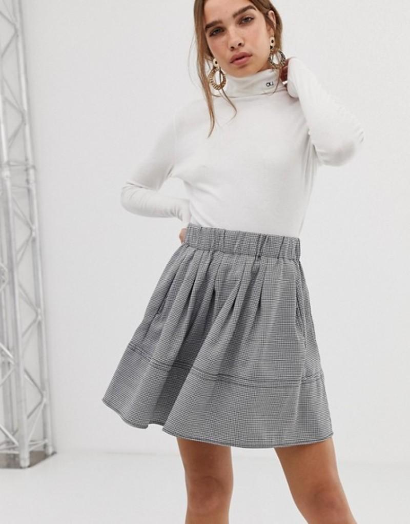 ミニマム レディース スカート ボトムス Moves By Minimum skater skirt Grey