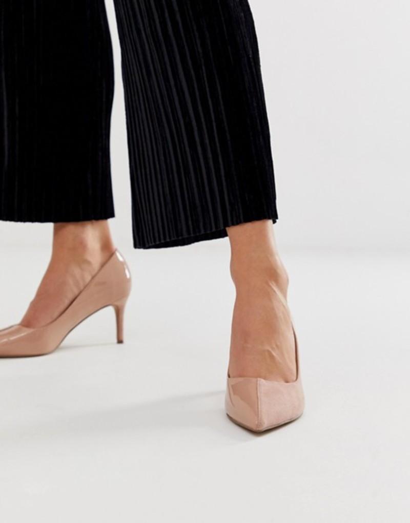 エイソス レディース ヒール シューズ ASOS DESIGN Sync mid heels Warm pink mix