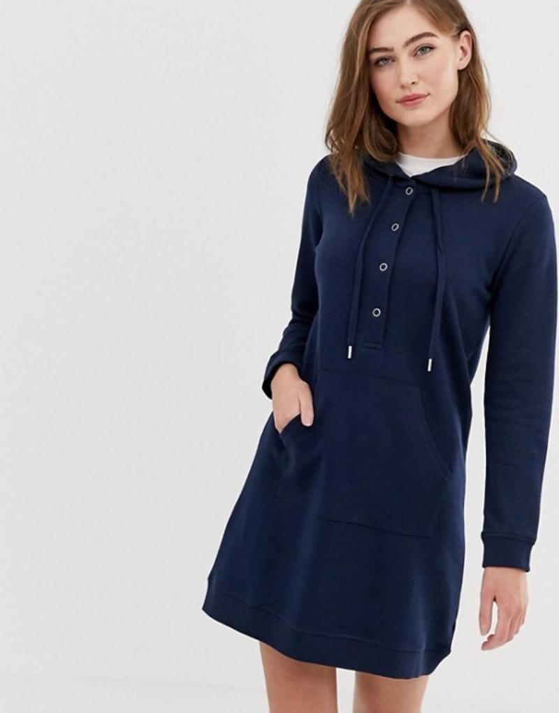 ママライシアス レディース ワンピース トップス Mamalicious Nursing Hooded dress Navy blazer