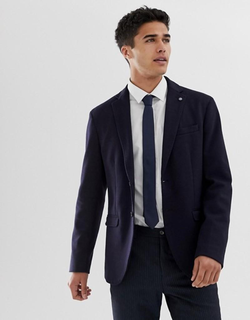 セレクテッドオム メンズ ジャケット・ブルゾン アウター Selected Homme slim blazer in navy Dark navy