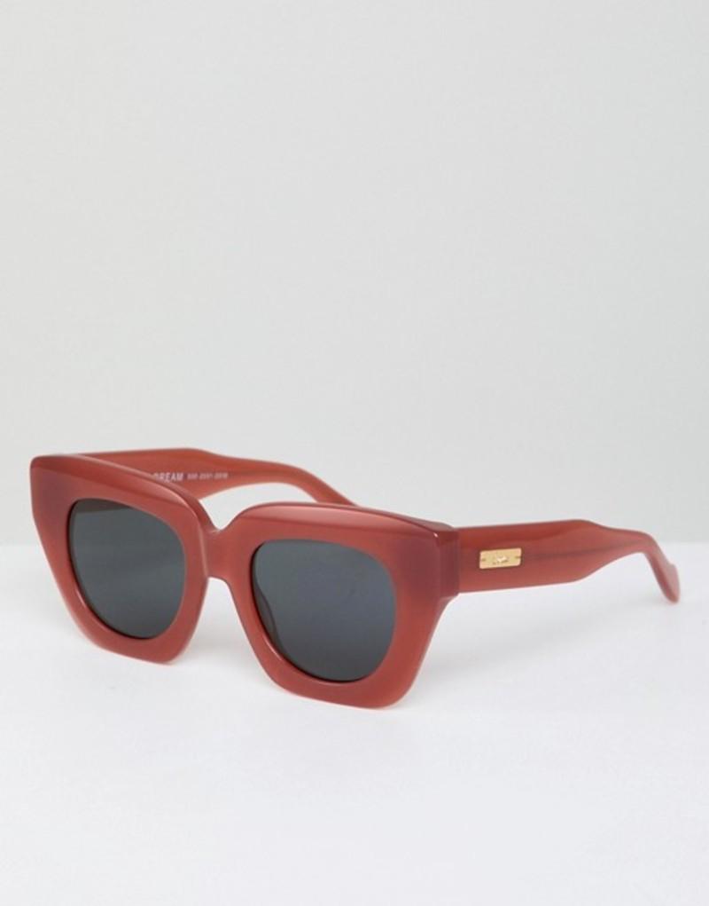ソニックス メンズ サングラス・アイウェア アクセサリー Sonix Tokyo Dream retro sunglasses in red Gold