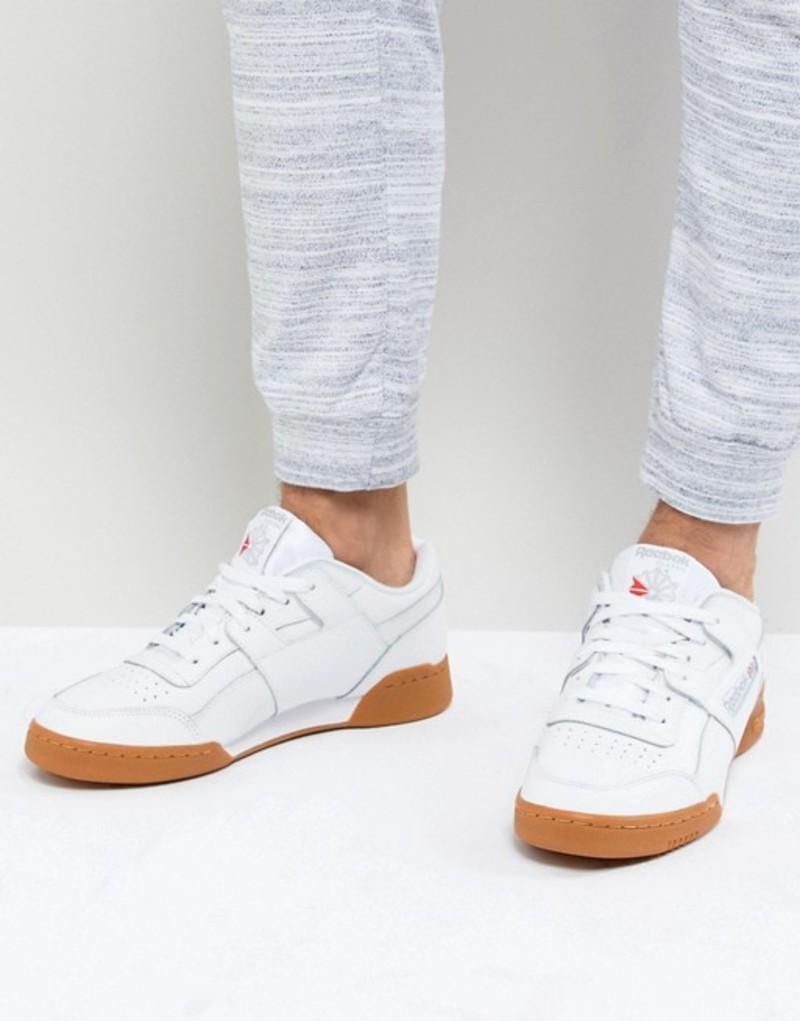 リーボック メンズ スニーカー シューズ Reebok Workout Plus NT Sneakers in white White