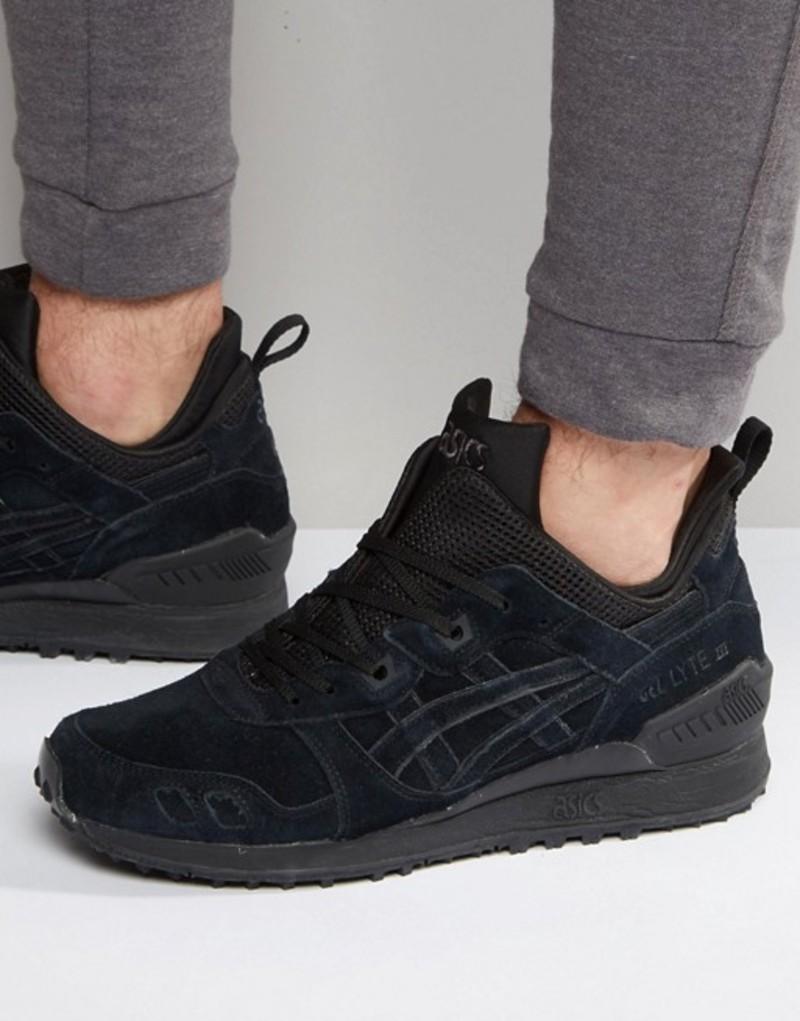アシックス メンズ スニーカー シューズ Asics Gel-Lyte MT Sneakers In Black Black