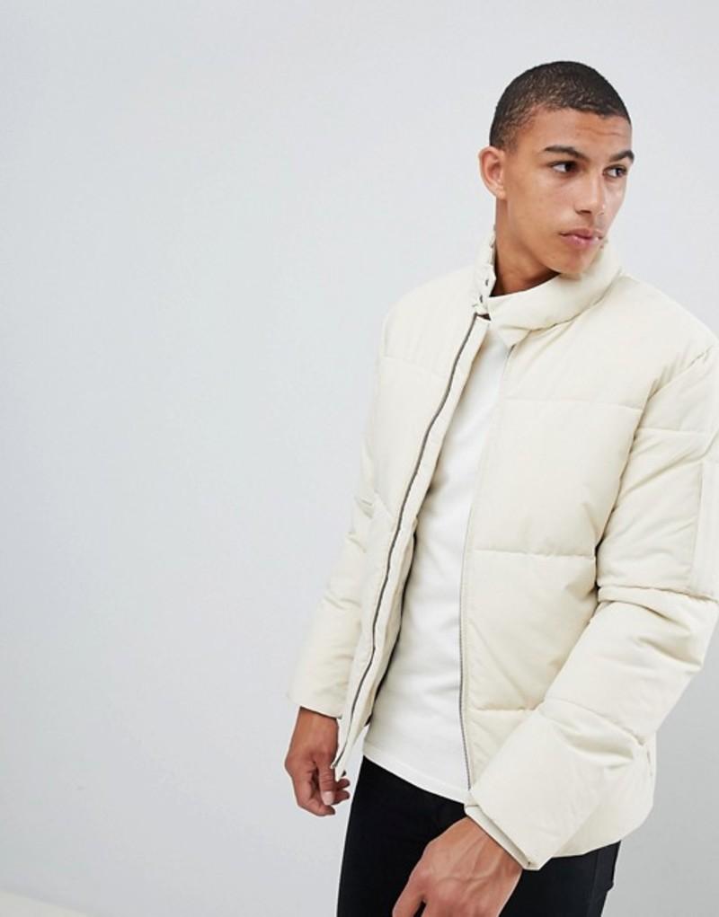 セレクテッドオム メンズ ジャケット・ブルゾン アウター Selected Homme puffer jacket Oyster gray