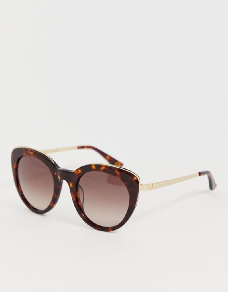 ホイッスルズ レディース サングラス・アイウェア アクセサリー Whistles cat eye sunglasses in tort Tortoiseshell