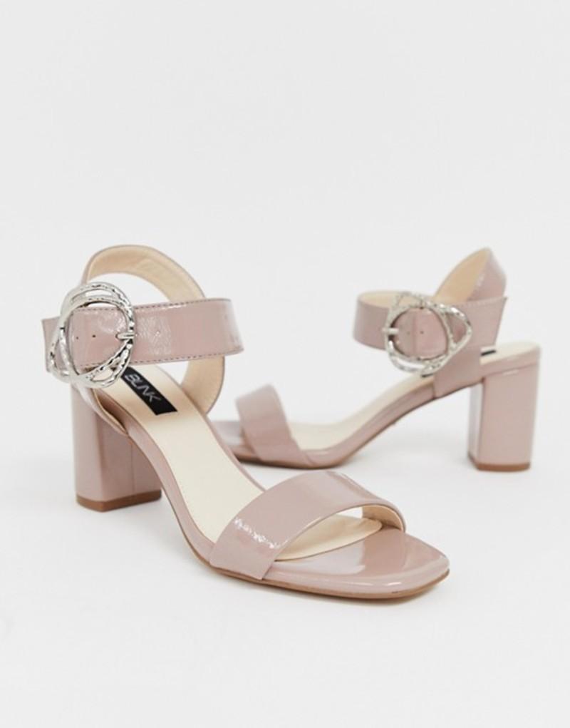 ブリンク レディース サンダル シューズ Blink block heeled sandals Beige