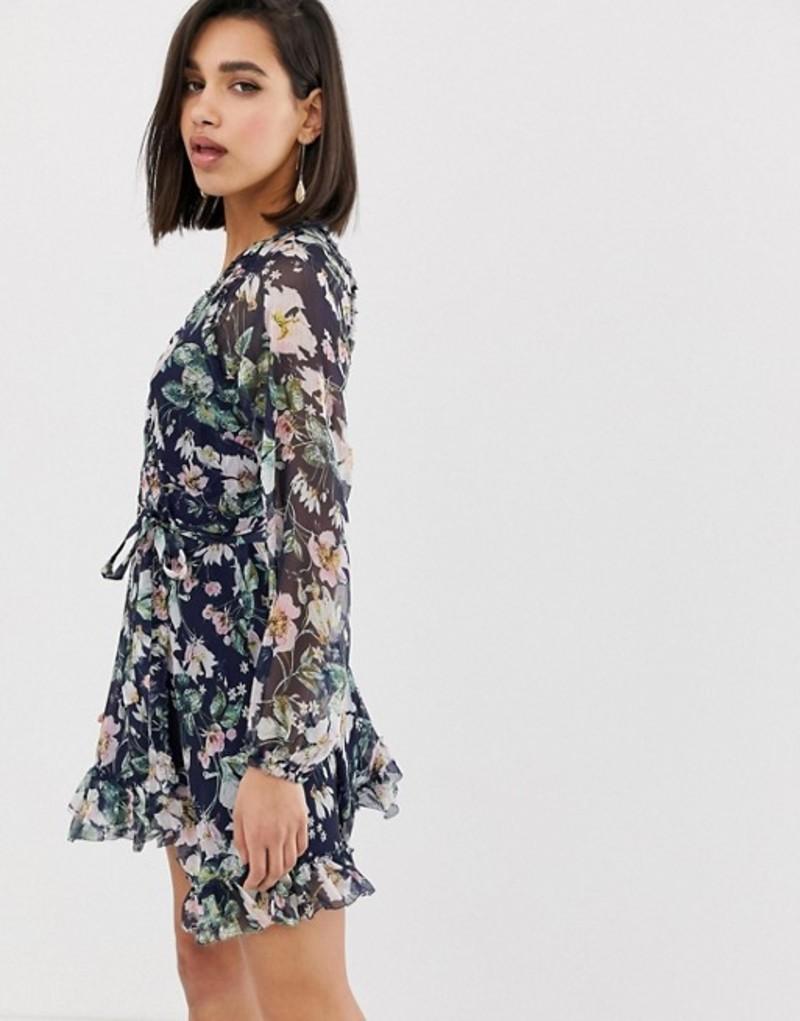 ジェットセットダイアリーズ レディース ワンピース トップス The Jetset Diaries fleur mini dress Fleur print