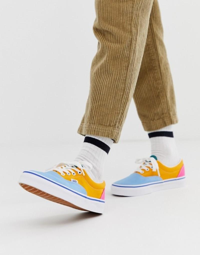 バンズ レディース スニーカー シューズ Vans Era color block sneakers Multi