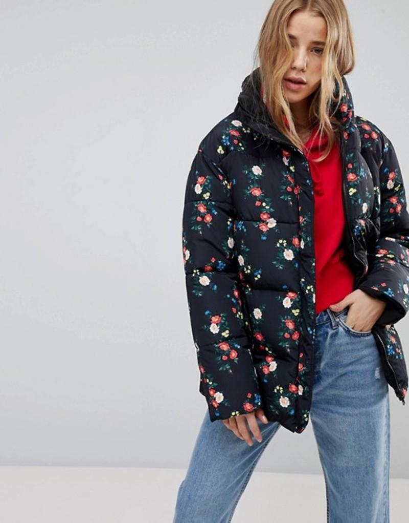 ミスセルフフリッジ レディース ジャケット・ブルゾン アウター Miss Selfridge Reversible Floral Padded Jacket Multi
