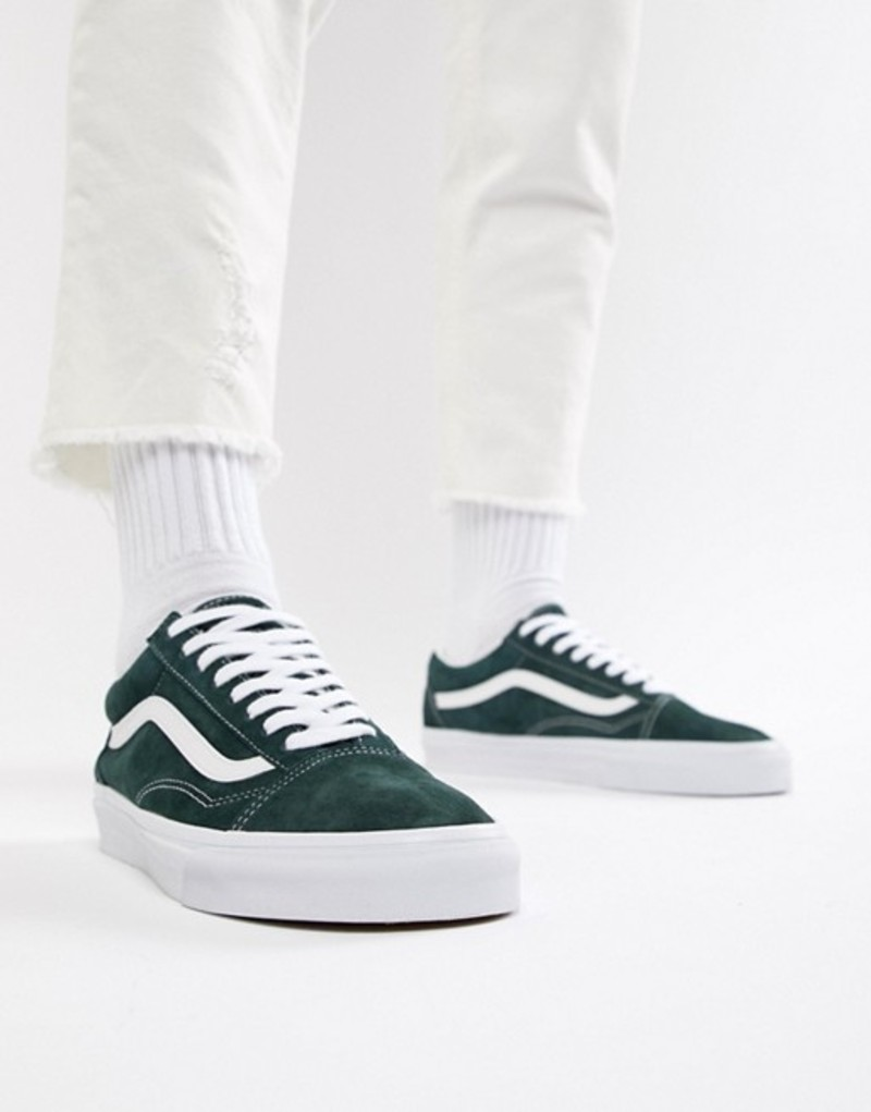 バンズ メンズ スニーカー シューズ Vans Old Skool sneakers in green VN0A38G1U5J1 Green