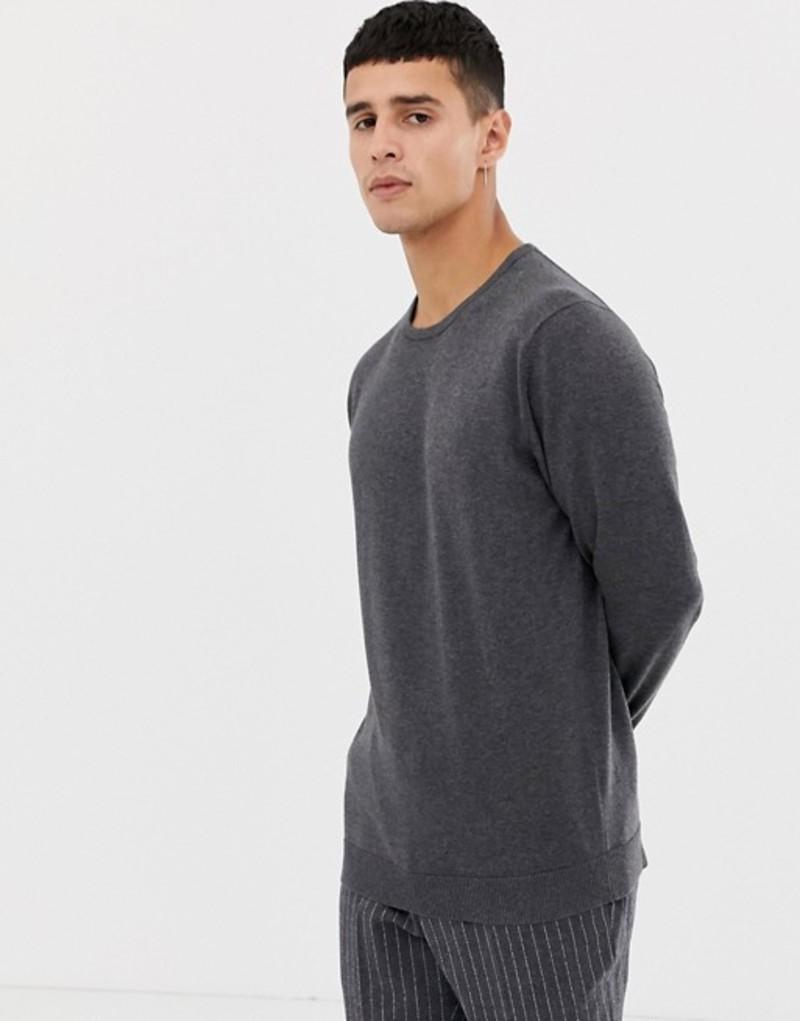 セレクテッドオム メンズ ニット・セーター アウター Selected Homme crew neck sweater Mgm