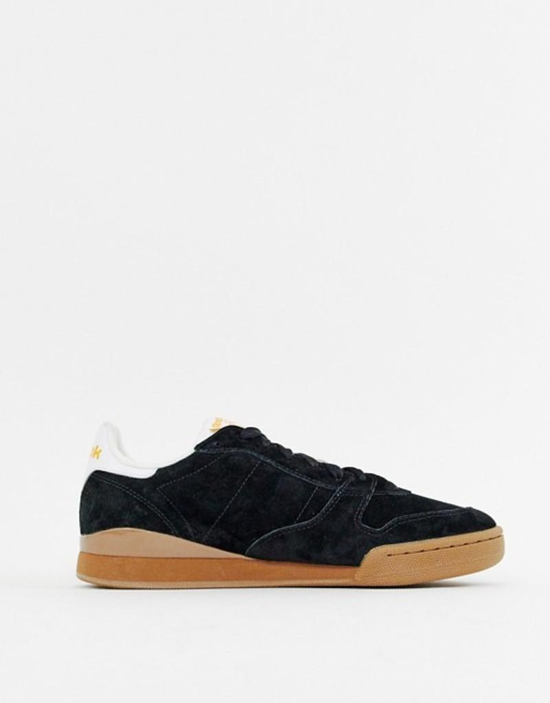 リーボック メンズ スニーカー シューズ Reebok Phase 1 Sneakers Black With Gum Sole White