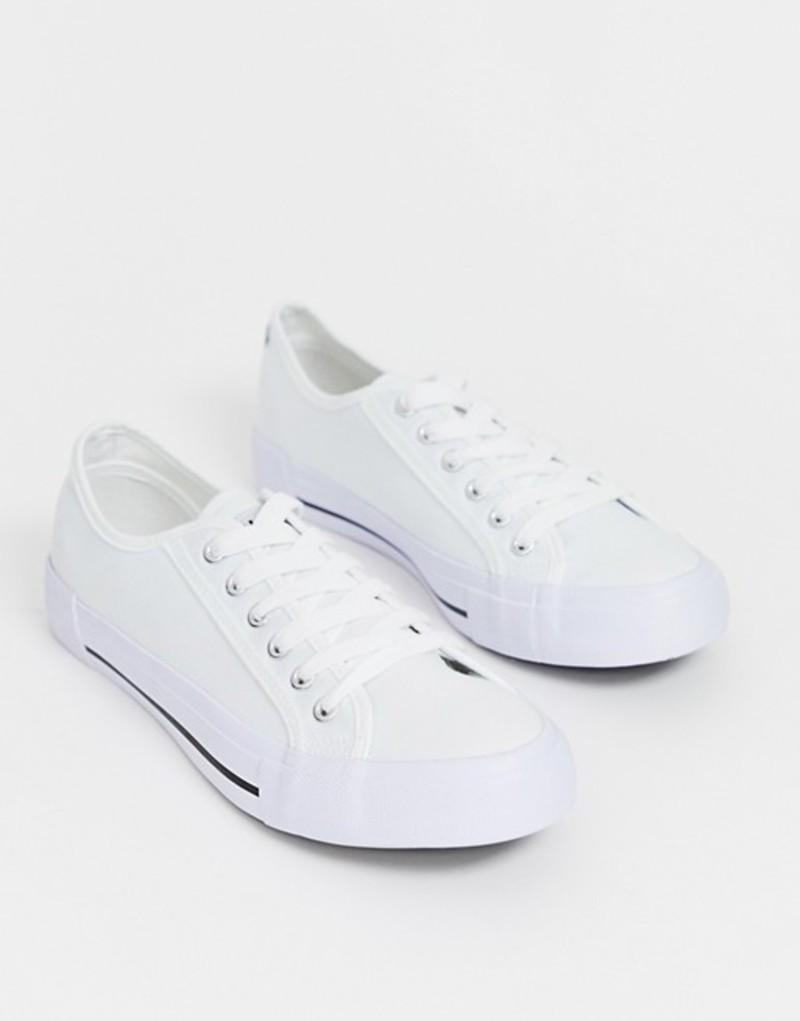 ニースロンドン メンズ スニーカー シューズ Nicce kansas sneaker in white White
