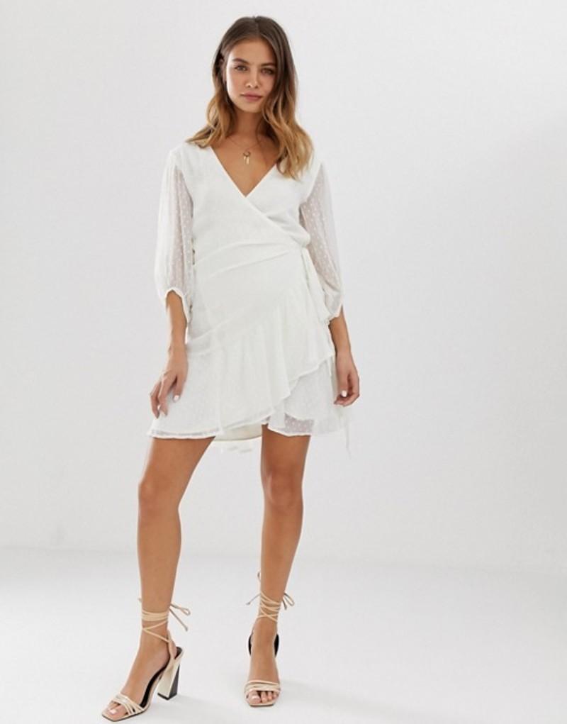 オールセインツ レディース ワンピース トップス AllSaints Jade dobby spot dress Chalk white