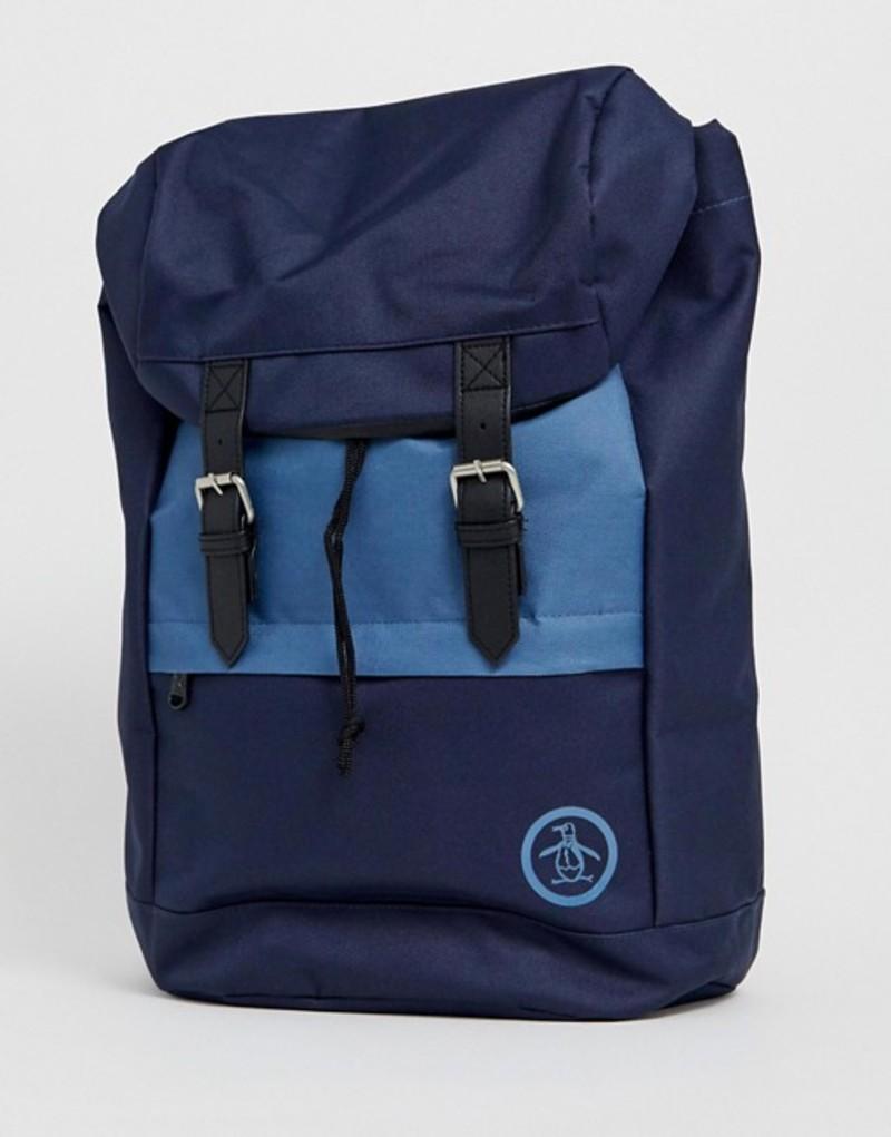 オリジナルペンギン メンズ バックパック・リュックサック バッグ Original Penguin backpack in navy Navy
