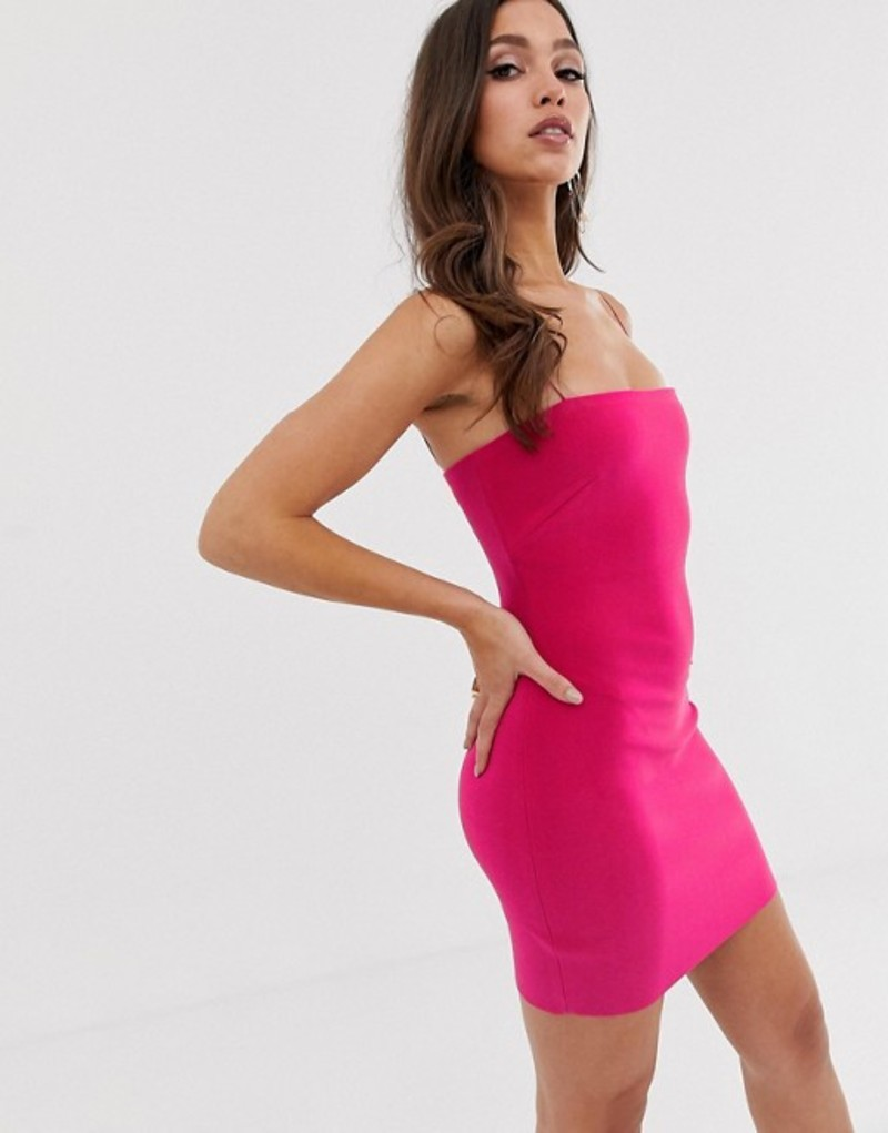 ベックアンドブリッジ レディース ワンピース トップス Bec & Bridge Exclusive bodycon mini dress Magenta