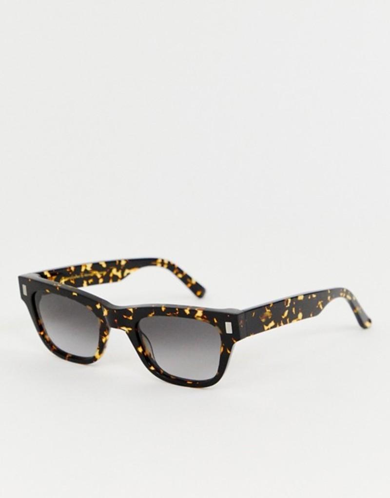 モノケル アイウェア レディース サングラス・アイウェア アクセサリー Monokel Eyewear Aki square sunglasses in tort Brown