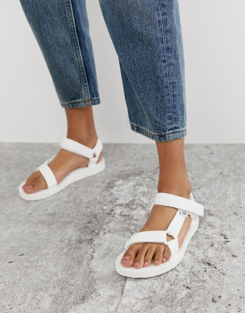 テバ レディース サンダル シューズ Teva Original Universal sandals in white White