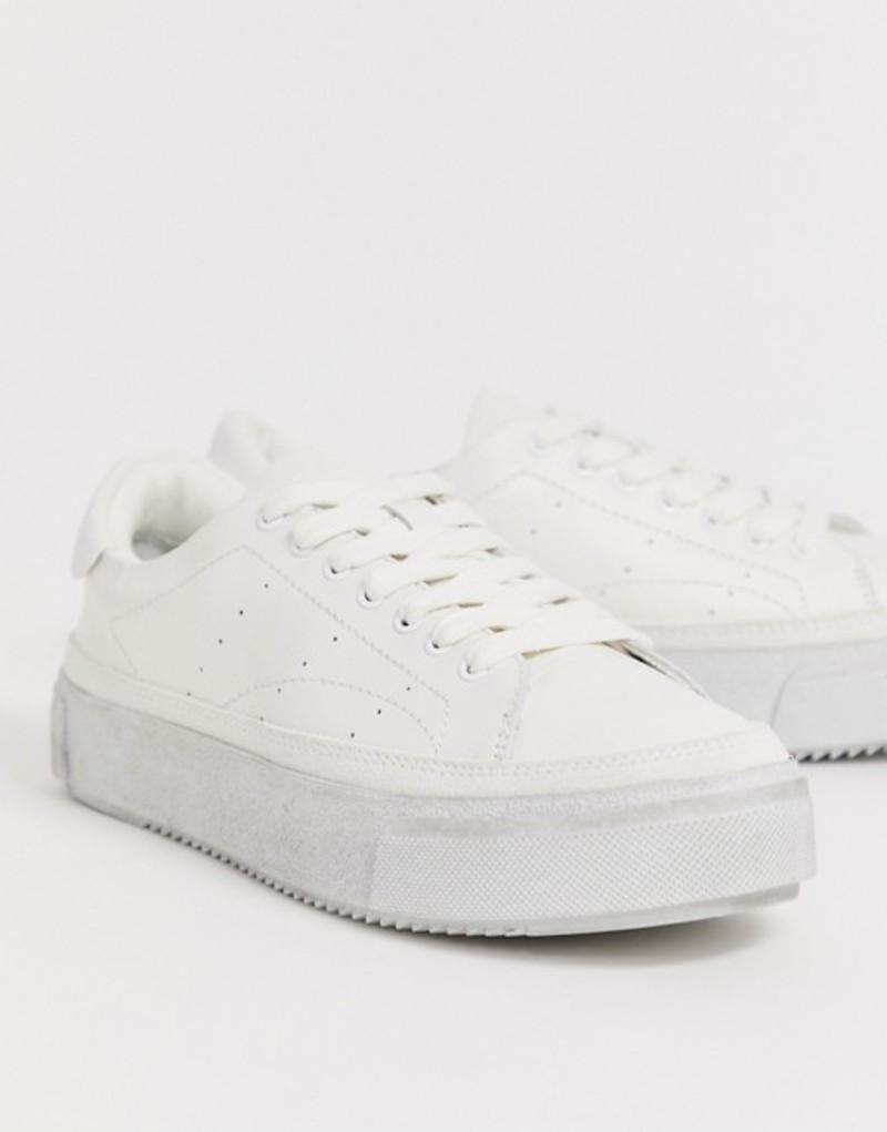 オールセインツ レディース スニーカー シューズ AllSaints platform sneaker White