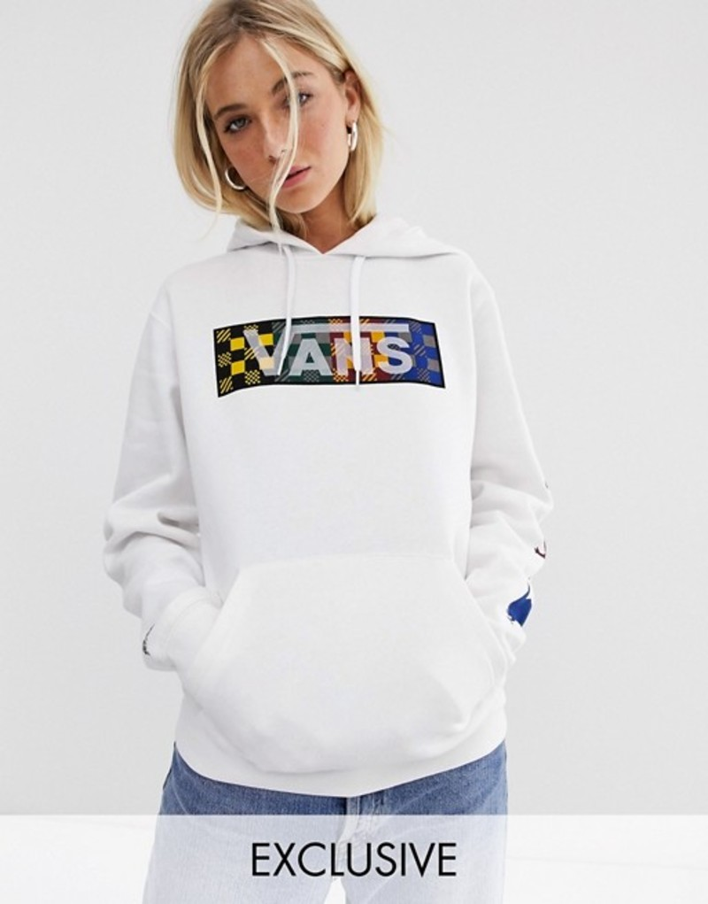 バンズ レディース パーカー・スウェット アウター Vans X Harry Potter Four Houses hoodie in white White