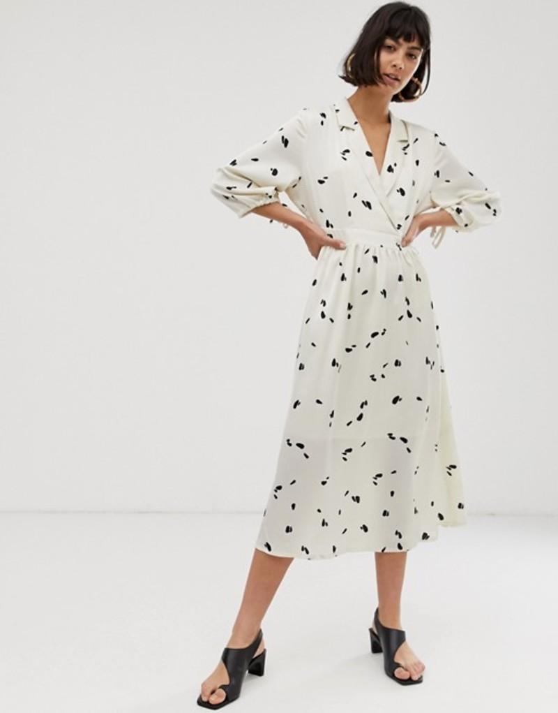 セレクティッド レディース ワンピース トップス Selected Femme floral midi dress Multi
