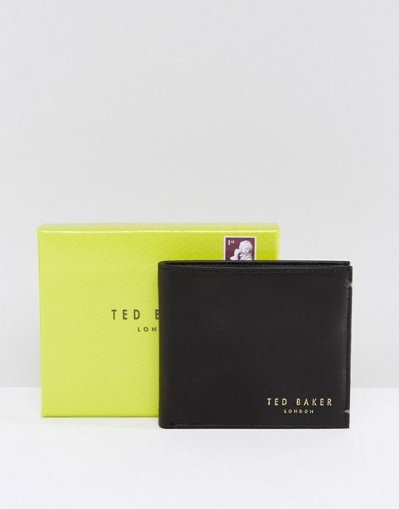 テッドベーカー メンズ 財布 アクセサリー Ted Baker Antony leather billfold wallet Black