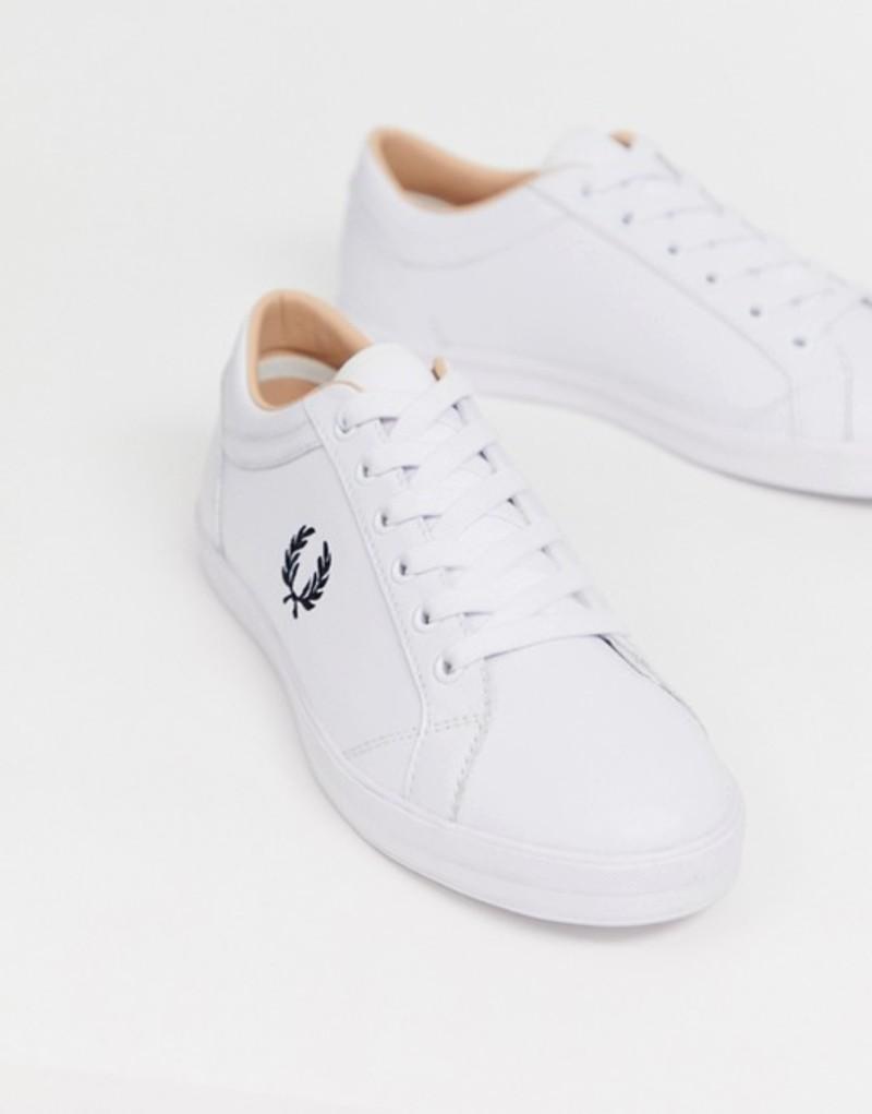 フレッドペリー メンズ スニーカー シューズ Fred Perry Baseline leather sneakers in wCWBdoexr
