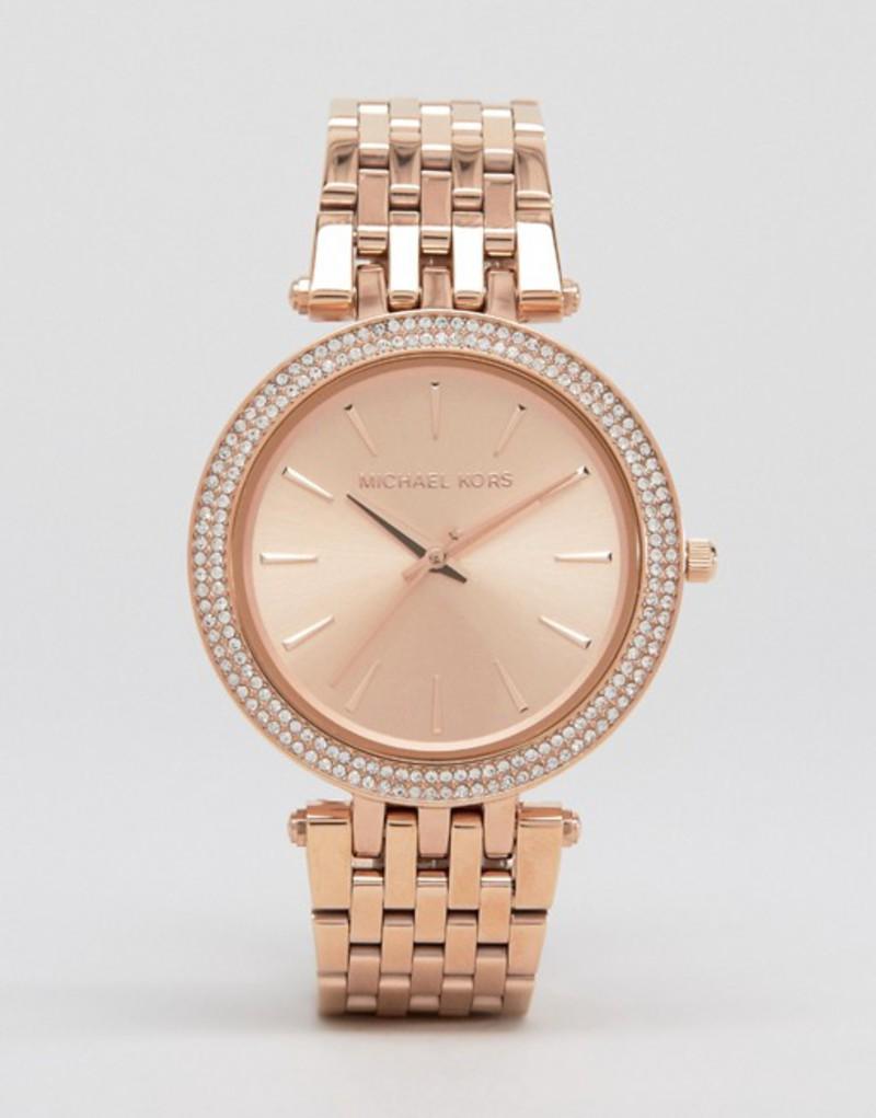 マイケルコース レディース 腕時計 アクセサリー Michael Kors MK3192 Darci rose gold watch Rose gold