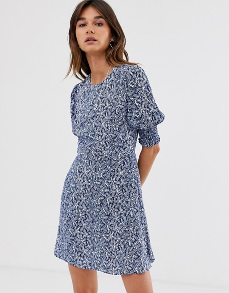 ホイッスルズ レディース ワンピース トップス Whistles josefina etch print dress Navy/multi