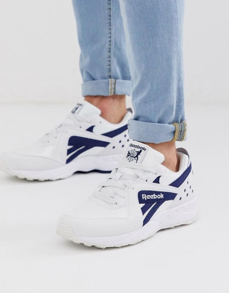 リーボック メンズ スニーカー シューズ Reebok pyro sneakers in white White